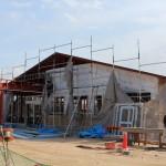 介護施設「やまぼうし」 建築状況(2月)