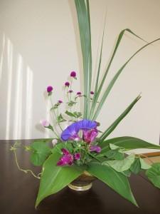お花を生けてくださいました。